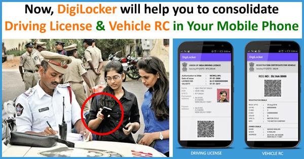Download Driving License DigiLocker