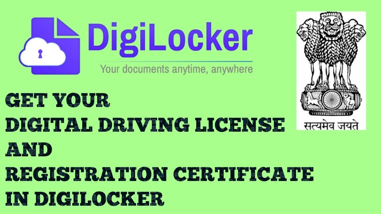 How Can I Link Driving License To Digilocker | DigiLocker Driving License Download