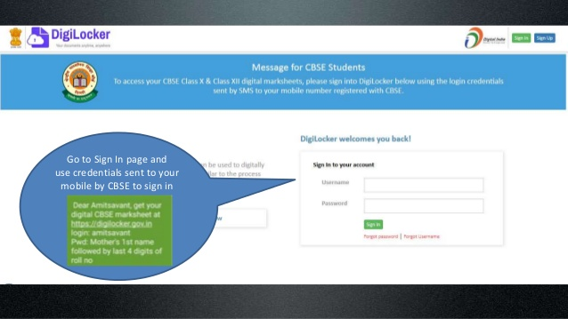 5 Simple Steps For Digilocker CBSE MarkSheet Download From
