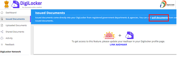 Link PAN To Digilocker
